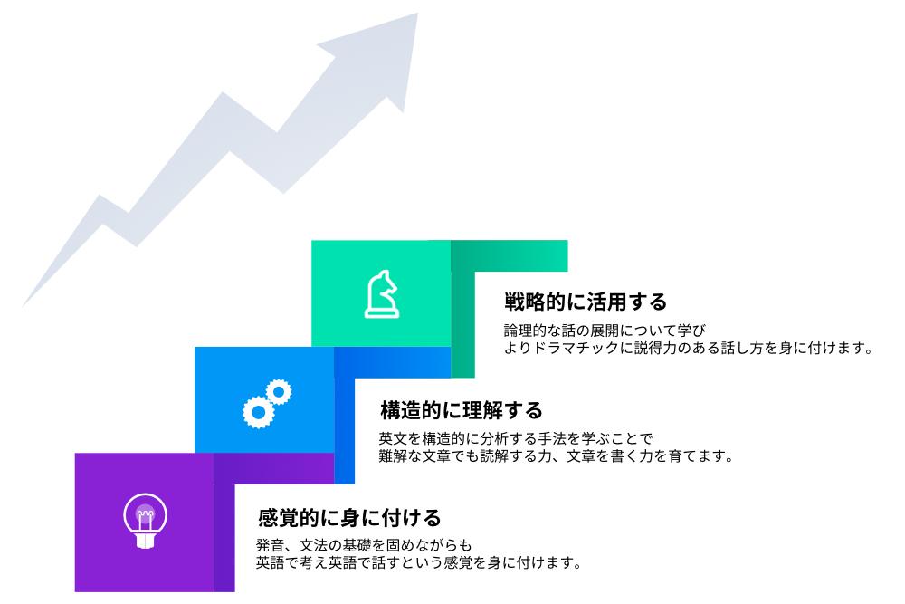 スタンダードコースの成長過程のイメージ画像